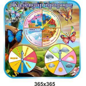 """Календарь природы """"Бабочки"""""""