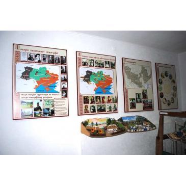 Информационные стенды с картойобласти