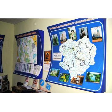 Объемный стенд с картой области