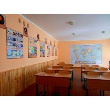 Комплект стендов для оформления кабинета географии
