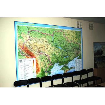 Стенд Карта Украины большая