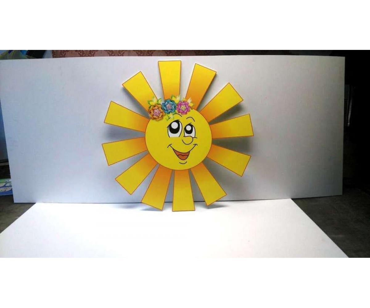 Стенд солнышко-давайте знакомиться