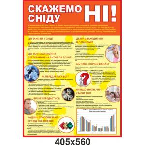 """Информационный стенд """"Скажем СПИДу нет"""""""