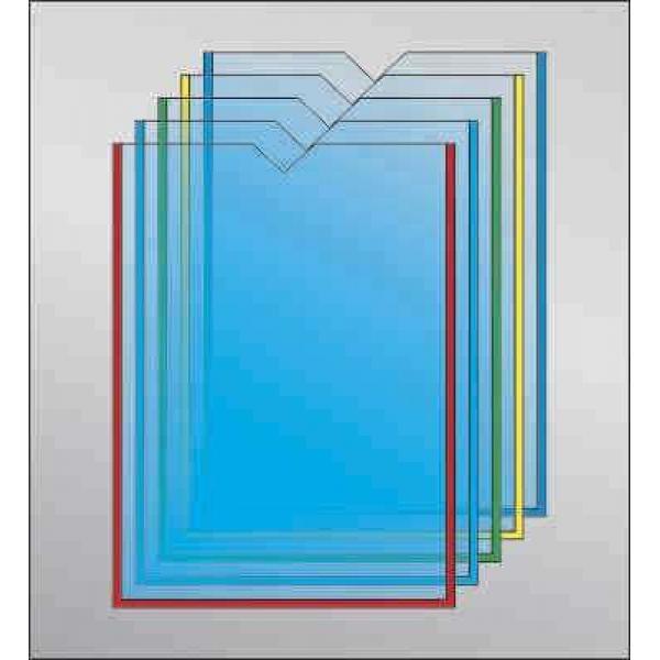 Карман под А5 формат с прямым вырезом вертикальный (любой цвет)
