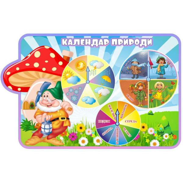 "Календарь ПРИРОДЫ ""Гномики"""