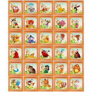 """Набор наклеек для детского сада """"Сказки. Оранжевый"""""""
