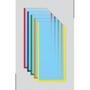 Карман под евроформат с косым вырезом вертикальный (любой цвет)