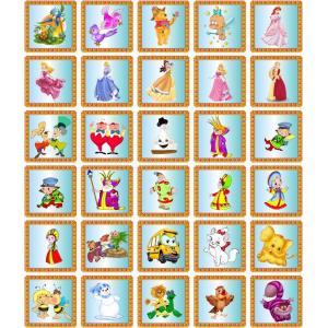 """Набор наклеек для детского сада """"Сказки. Голубой"""""""
