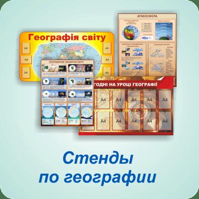 Стенды по географии — Харьков