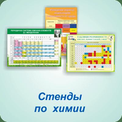 Стенды по химии — Харьков