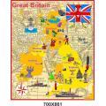 """Стенд """"Карта Великобритании"""" в картинках"""