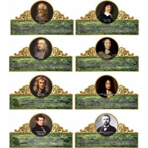 """Комплект портретов """"Великие математики"""""""