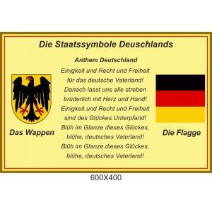 """Стенд в кабинет немецкого языка """"Символика Германии"""""""