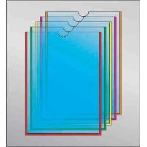 Карман под А6 формат с круглым вырезом, вертикальный
