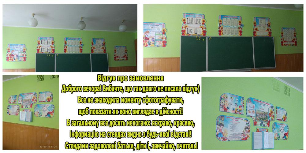 стенды для начальной школы отзыв