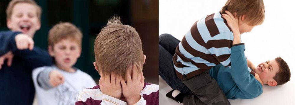 поведения ребенка-агрессора